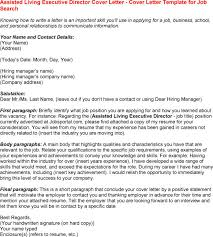 Executive Director Cover Letter Samples Sales Executive Cover Letter within Executive Director Cover Letter