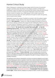 Hamlet Act   Scene   Soliloquy Essay studylib net Hamlet Act III  scene    Questions