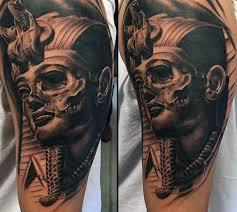 Tattoo Designs Half Sleeve Ideas 60 King Tut Tattoo Designs For Men Egyptian Ink Ideas