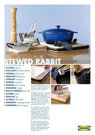 recipe ads for ikea list products as ingredients u2013 eat me daily