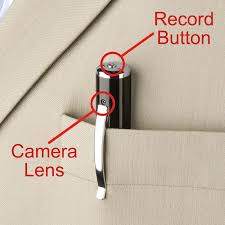 قلم كاميرا تجسس