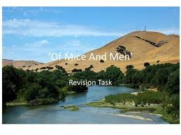 Of Mice And Men      Revision Task  Match up these characters with descriptions of        SlidePlayer