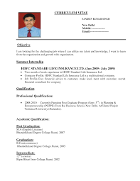 Sample Resume For Overseas Jobs by Sample Of Resume Form Free Resume Example And Writing Download