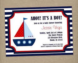 printable baby shower invitations for boys ahoy it u0027s a boy custom printable nautical baby shower or birthday