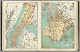 Brooklyn New York Map by N Y City Brooklyn David Rumsey Historical Map Collection