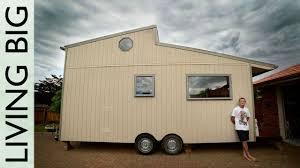 amazing diy off grid modern tiny house youtube