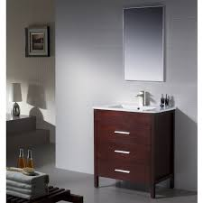 Modern Walnut Bathroom Vanity by Amazon Com Bathroom Vanity Morris 30 Matt White With Porcelain