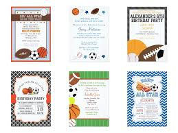 Sport Invitation Card All Sports Party Theme Party Planning Ideas U0026 Supplies