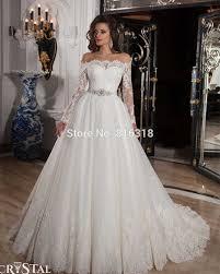 vestido de noiva manga longa ball gown country style wedding