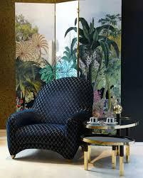 Preloved Chesterfield Sofa by Roche Bobois Maison Christian Lacroix Armchair Rochebobois
