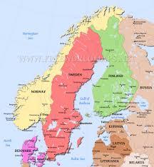 Show Map Of Europe by Scandinavia Map U2013 By Freeworldmaps Net