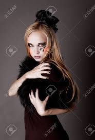 Halloween Kids Witch Makeup by Pretty Makeup As A Witch For Halloween Is Looking Straight