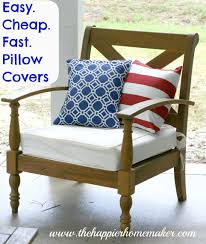 dining room chair seat covers decor miraculous cheap outdoor cushion cover in canvas pillow