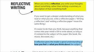 Help writing reflective essay   Do my computer homework It is an important style of writing  middot  Reflective Research Paper   Service Learning     Stamp Student Union   University of Maryland