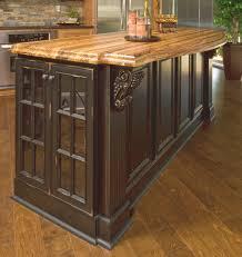 kitchen room design furniture massive two tones stand alone
