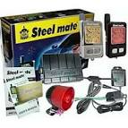 SteelMate - 898G 2 Way Alarm With Vibrating Remote and Engine Start