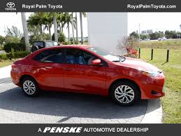dealer toyota 2018 new toyota corolla le cvt at royal palm toyota serving