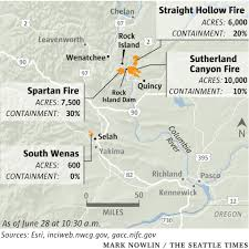 Wildfire Containment by Eastern Washington Wildfires Prompt Urgent Evacuations The