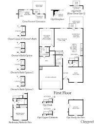 centex claypool floor plan great layout dream house plans