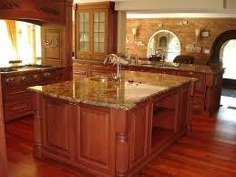 Kitchen Island Oak by Kitchen Quartz Countertops With Oak Cabinets Quartz Countertops