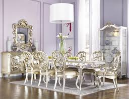 lovely decoration mirrored dining room set extraordinary design
