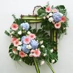 DE 003 พวงหรีดดอกไม้สด - ร้านดอกไม้แดงออร์คิด นนทบุรี, ร้านดอกไม้ ...