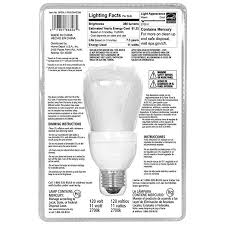 ecosmart 50w equivalent 2700k r20 dimmable cfl light bulb soft