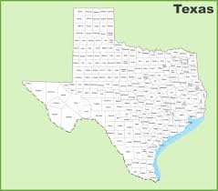 Texas Map Austin by Texas County Map
