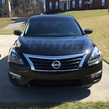 nissan altima 2015 updates for 2013 2015 nissan altima sedan led drl projector black