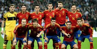 Tim Spanyol euro 2012