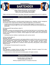 Resume Australia Examples by Bartendending Responsibilities Resume Sample And Bartending Resume