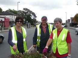 Local people regularly meet up once a month or so to with Melinda Brown (Town Centre Manager) to do some planting, weeding and tidying up of our green ... - greeningthegreen