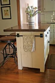 Nice Kitchen Islands Adorable Brown Color Wooden Kitchen Island Come With Backless