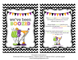 happy halloween banner free printable we u0027ve been boozed free printable free printable holidays and