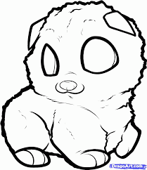 pomeranian coloring page coloring home
