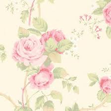 Shabby Chic Pink Wallpaper by Wallpaper Vintage Inspired Floral Pink By Wallpaperyourworld