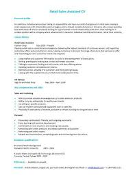Retail Assistant Manager Resume Examples   resume objective for any job happytom co
