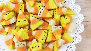 how to make halloween candy corn cookies youtube