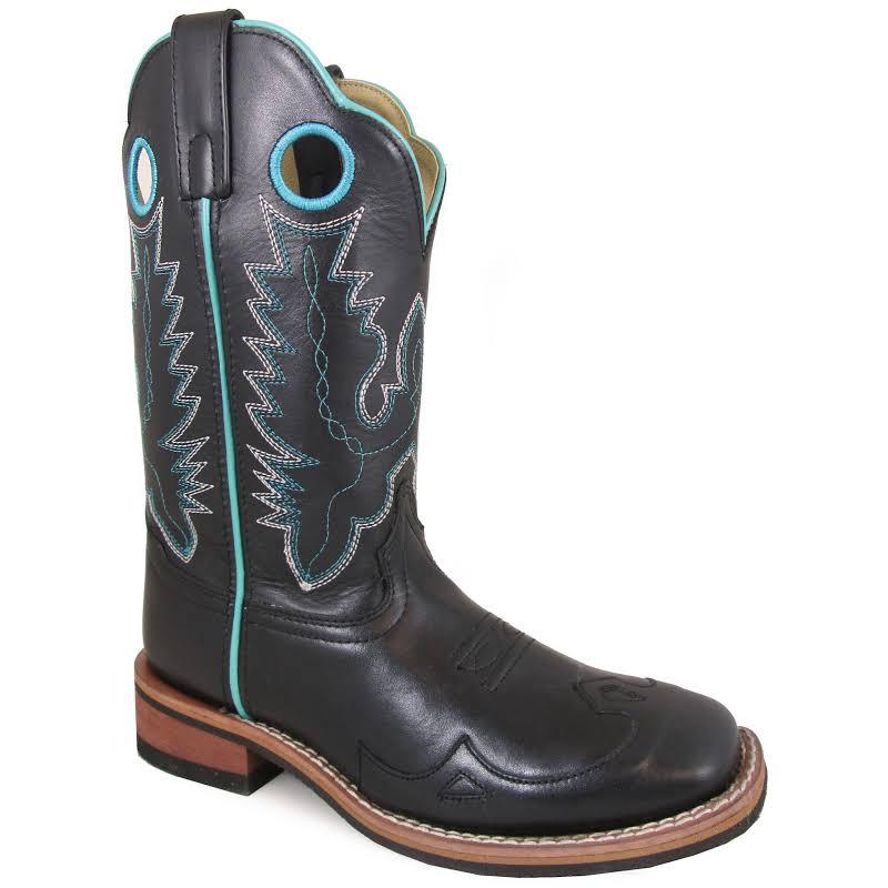 Smoky Mountain Ladies Marianna Sq Blk Boots 11