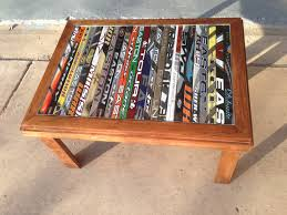 hockey stick table ruemoody nhl news pinterest hockey