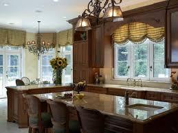 small kitchen window treatment ideas with modern design 4660