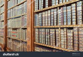 old books on library shelf stock photo 85927876 shutterstock