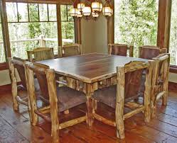 distressed wood dining room table home design great fancy in