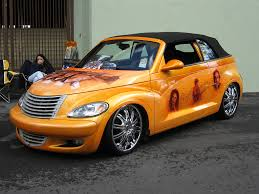 chrysler pt cruiser cars low rider and dream cars