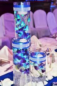Purple Floating Candles For Centerpieces by My Royal Blue Wedding Centre Piece Wedding Pinterest Royal