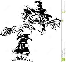 halloween vector art scarecrow halloween cartoon vector clipart stock vector image