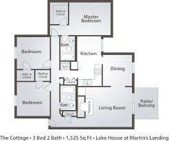 three bedroom apartment floor plan with concept gallery 70456