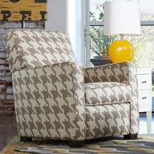 midtown contemporary high leg recliner by la z boy wolf and