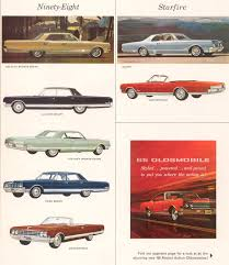 1965 oldsmobile motor vehicles brochure
