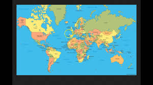 Pictures Of World Map by Mandela Effect World Map Residual V2 Youtube